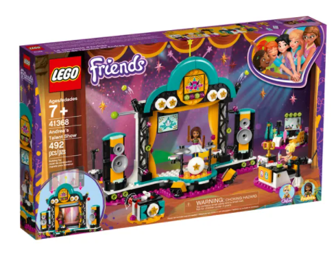 LEGO 41368 FRIENDS ANDREAS TALENT SHOW