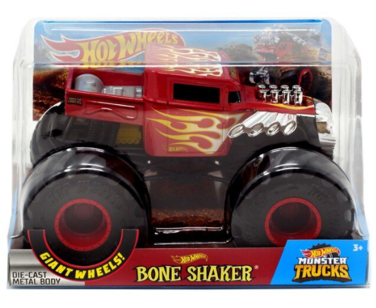 HOT WHEELS MONSTER TRUCKS 1:24 - BONE SHAKER