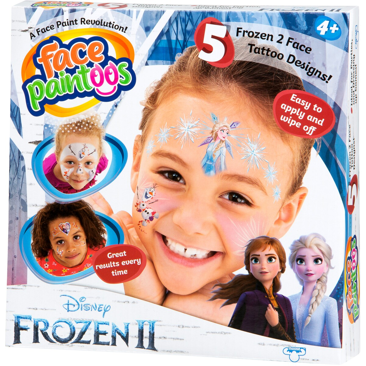 FROZEN 2 FACE PAINTOOS