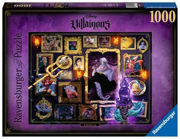 RAVENSBURGER VILLAINOUS: URSULA 1000PC