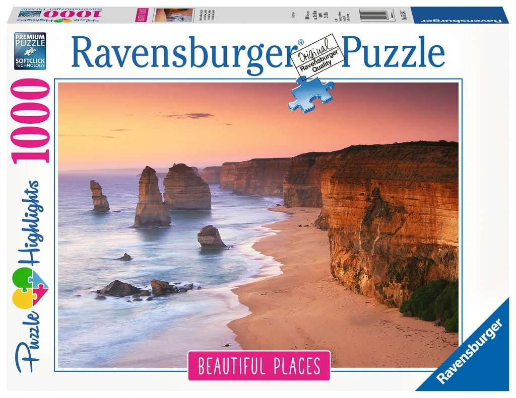 RAVENSBURGER - GREAT OCEAN ROAD - AUSTRALIA 1000PC | RAVENSBURGER | Toyworld Frankston