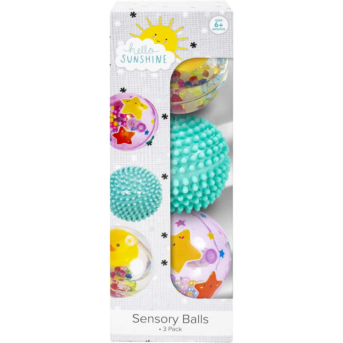 HELLO SUNSHINE SENSORY BALLS 3 PACK