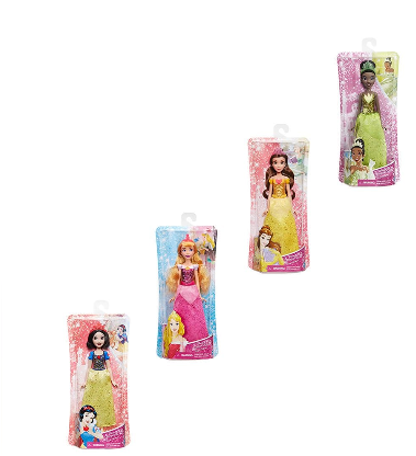 DISNEY PRINCESS ROYAL SHIMMER DOLL - TIANA