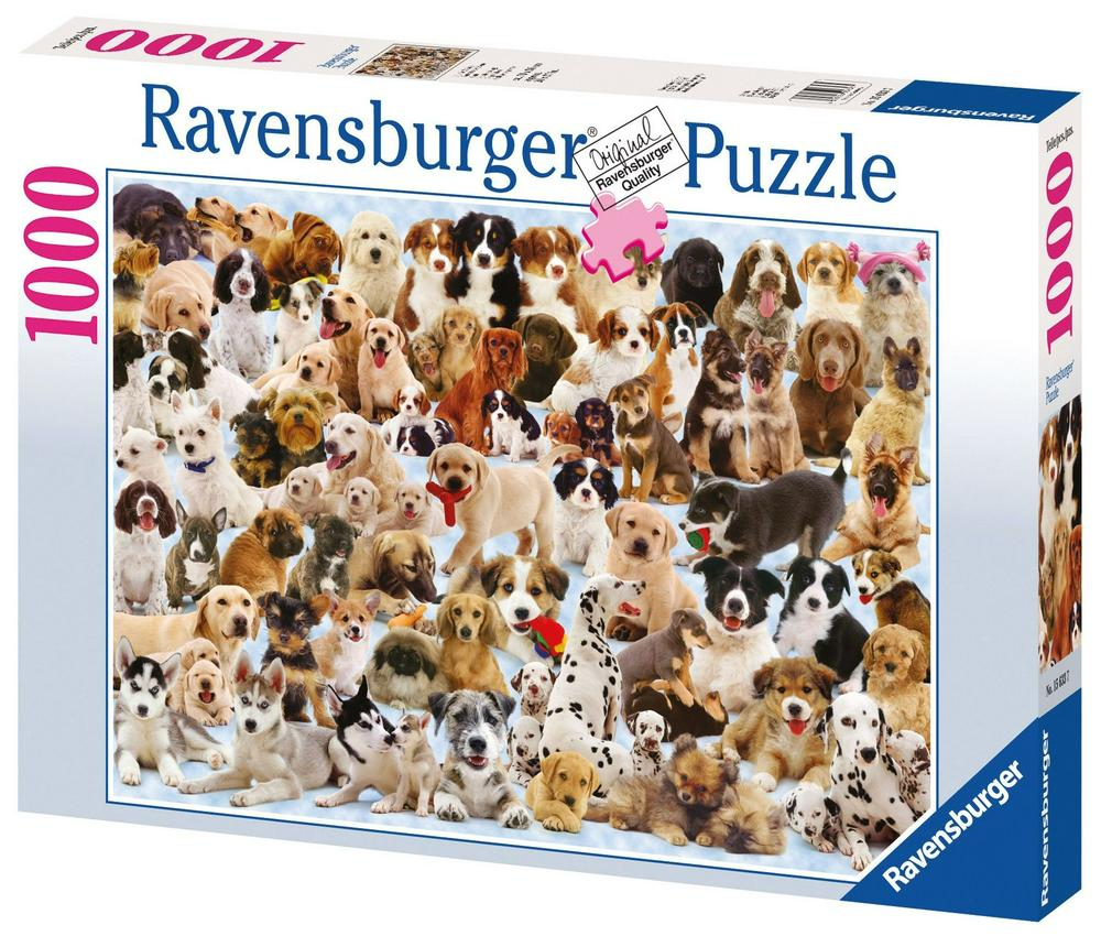 RBURG - DOGS GALORE PUZZLE 1000PC