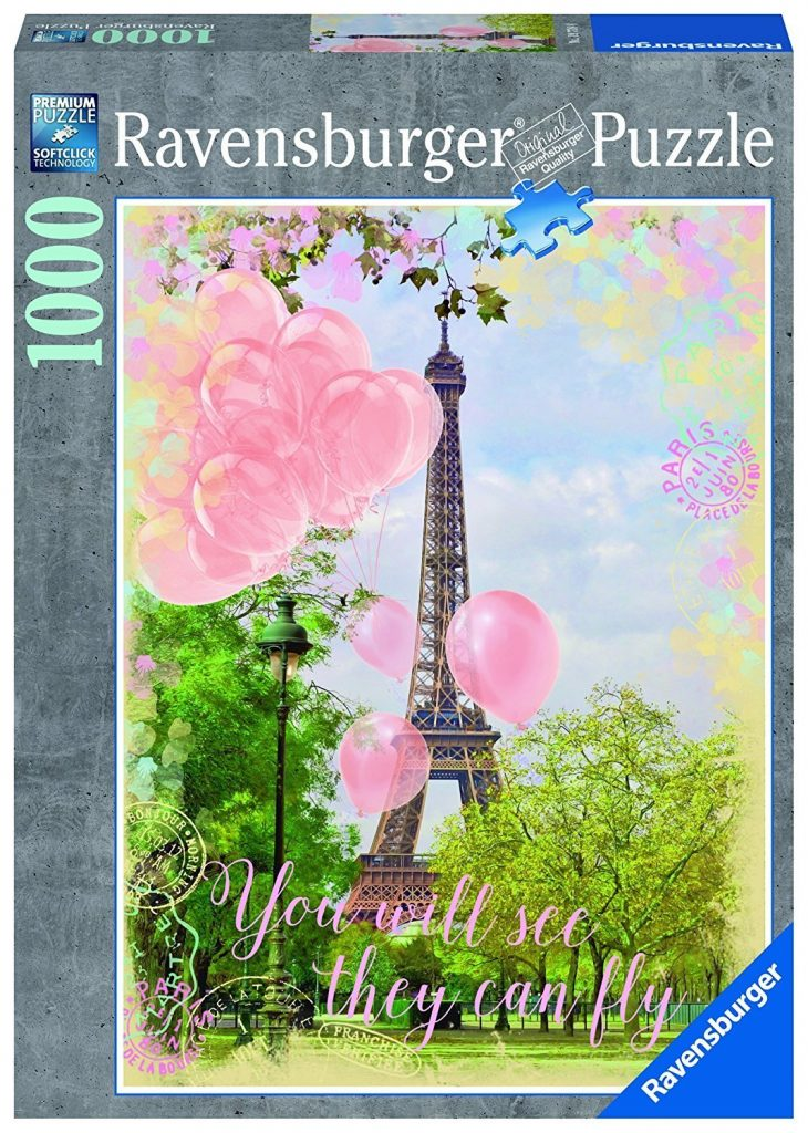 RAVENSBURGER EIFFEL TOWER DREAMS 1000PC PUZZLE