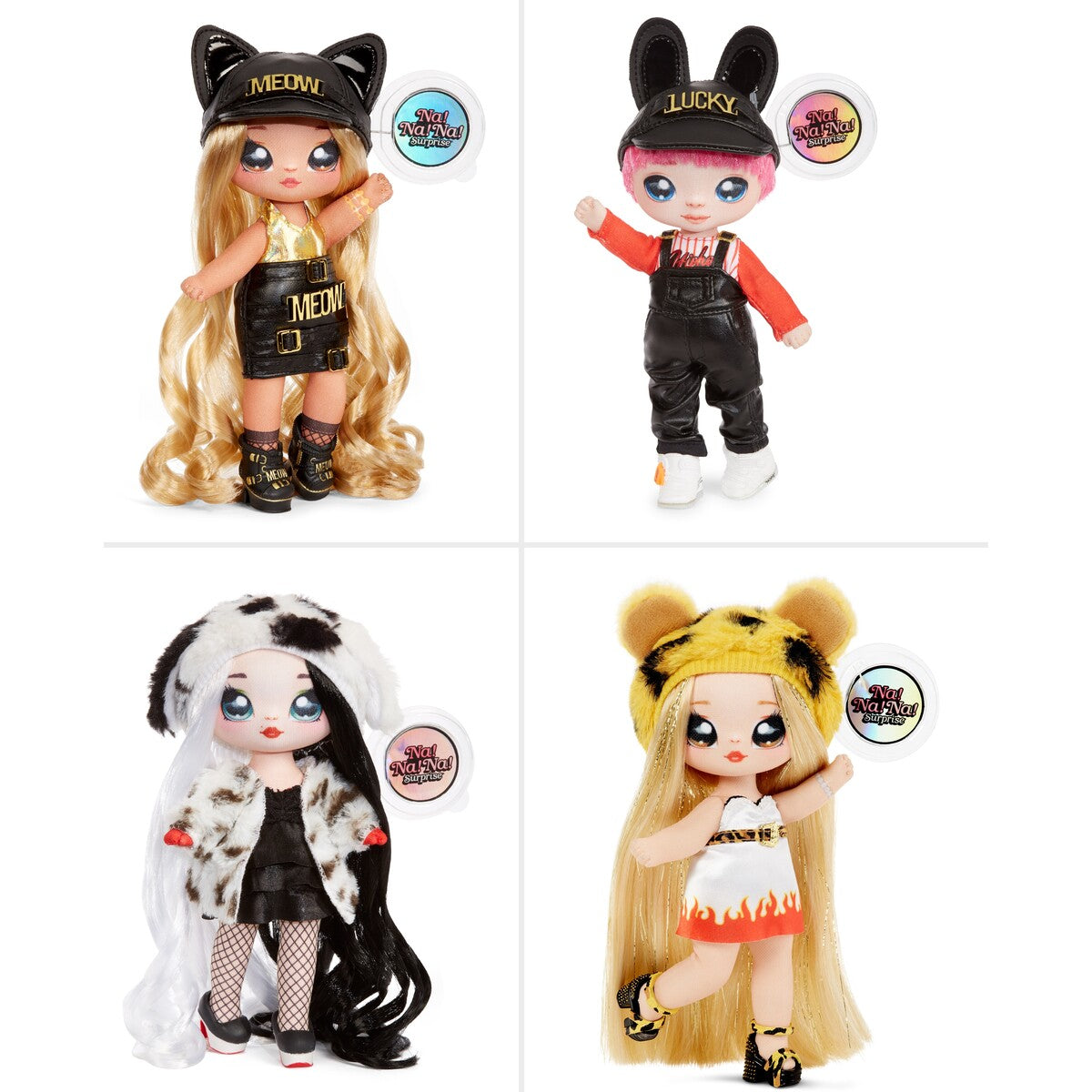 NA NA NA SURPRISE 2-IN-1 POM DOLL ASSORTMENT - SERIES 3