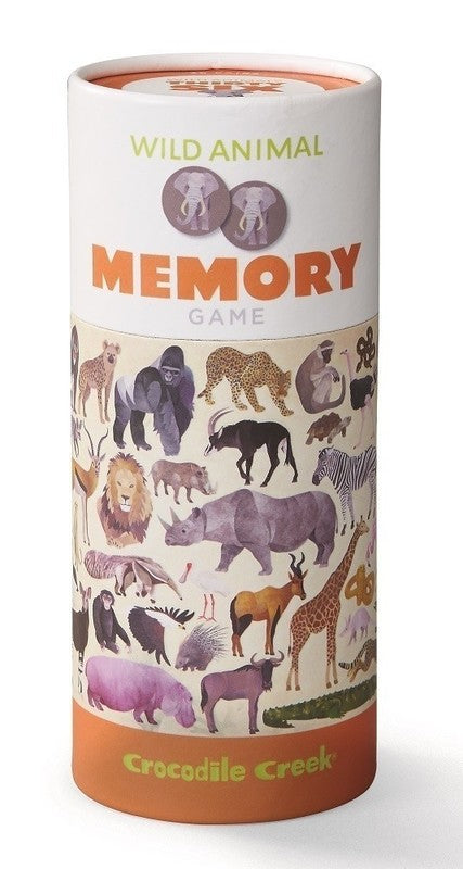MEMORY GAME CAN - WILDLIFE