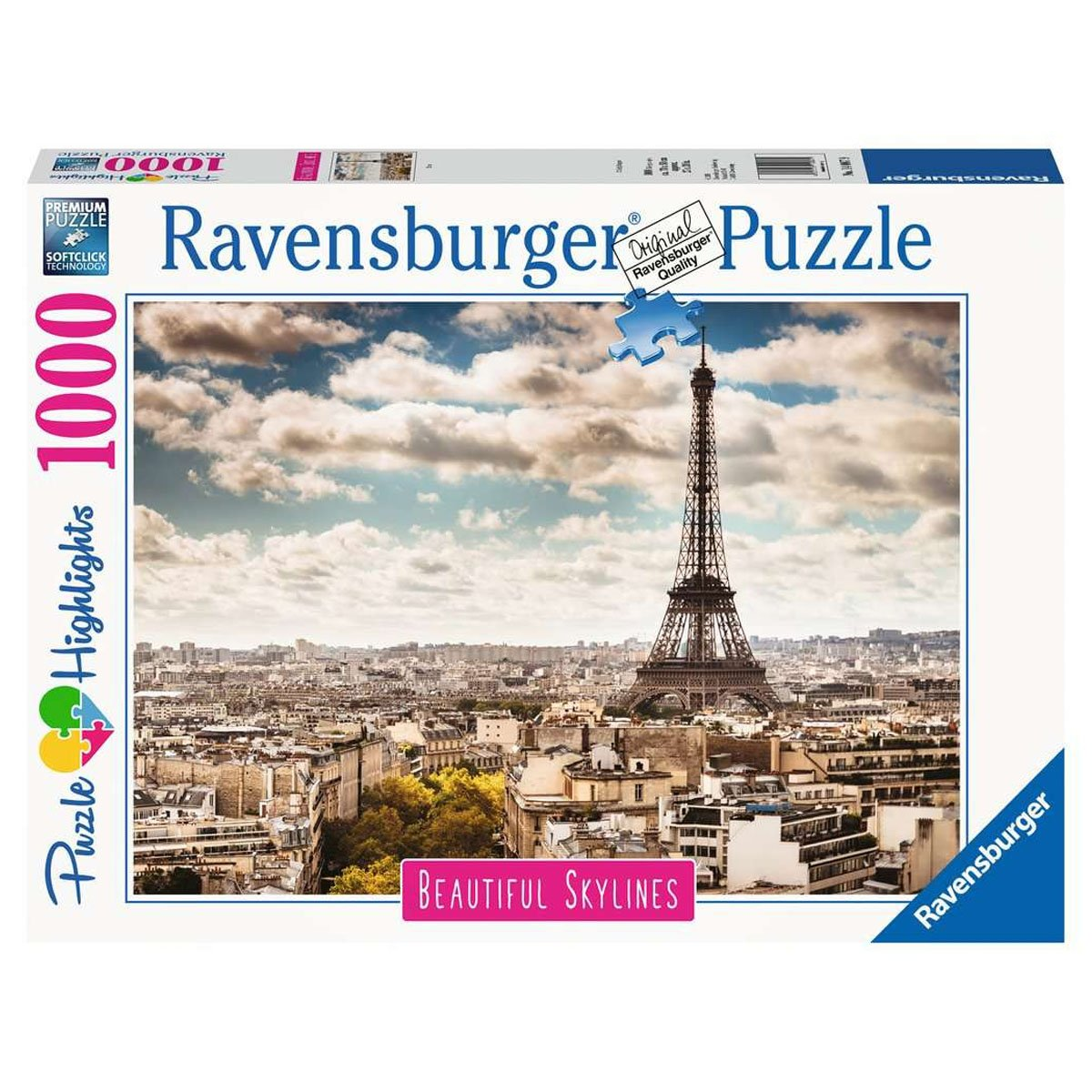 RAVENSBURGER PARIS 1000PC