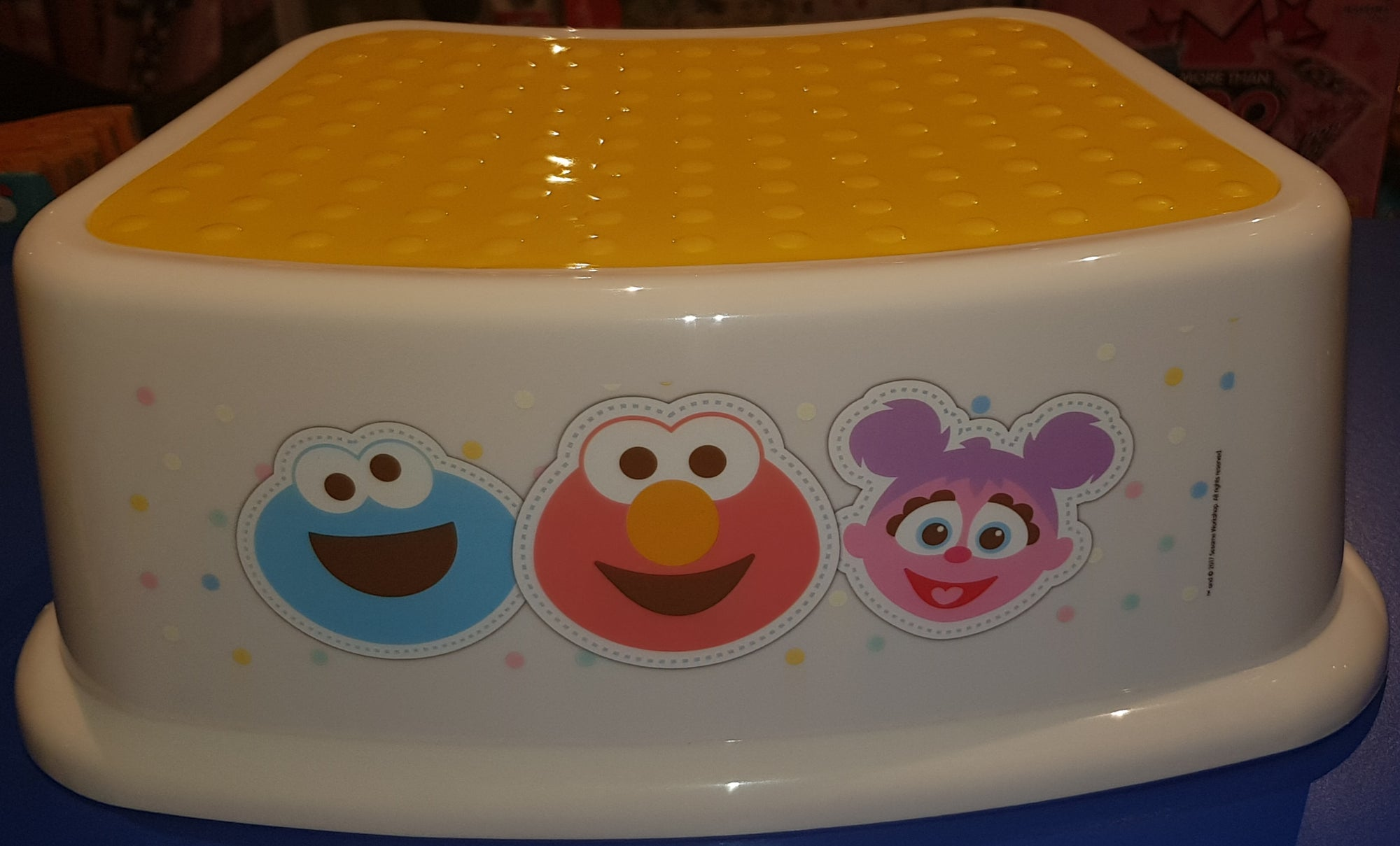 SESAME STREET BABY STEP STOOL | Toyworld Frankston | Toyworld Frankston