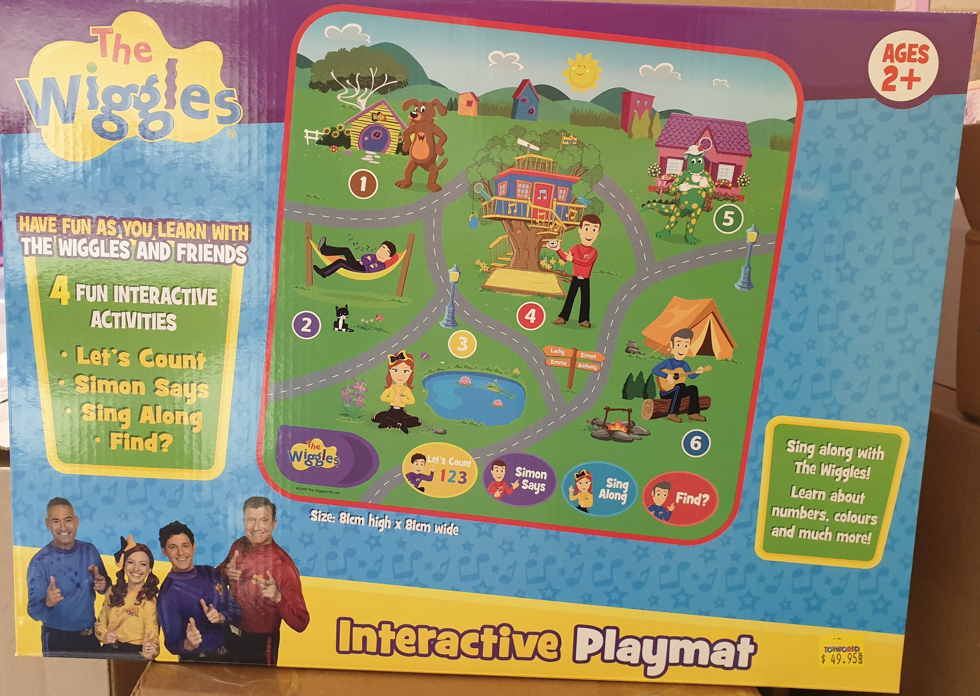 WIGGLES INTERACTIVE PLAYMAT