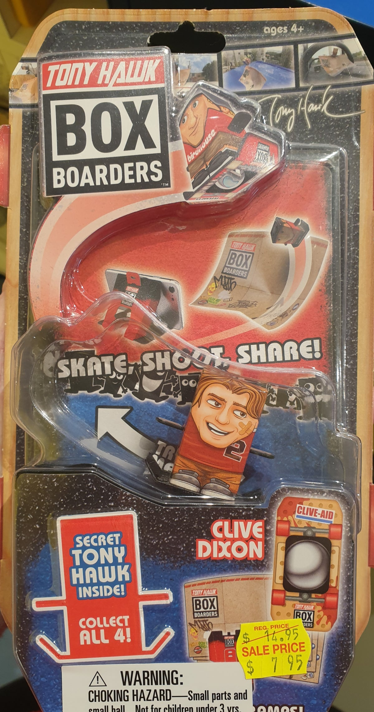 TONY HAWK BOX BOARDERS - ACTION PACK
