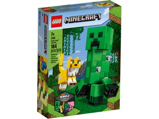 LEGO 21156 BIGFIG CREEPER AND OCELOT | Toyworld Frankston | Toyworld Frankston