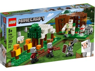 LEGO 21159 PILLAGER OUTPOST | Toyworld Frankston | Toyworld Frankston