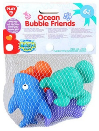 PLAYGO OCEAN BUBBLE FRIENDS