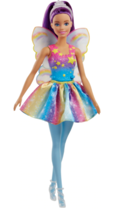 BARBIE FAIRYTALE FAIRY - PURPLE HAIR