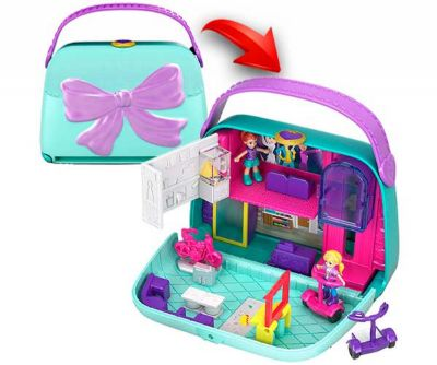 POLLY POCKET BIG POCKET WORLD - MINI MALL ESCAPE