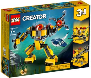 LEGO 31090 CREATOR UNDERWATER ROBOT | Toyworld Frankston | Toyworld Frankston