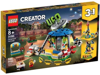 LEGO 31095 CREATOR FAIRGROUND CAROUSEL | Toyworld Frankston | Toyworld Frankston