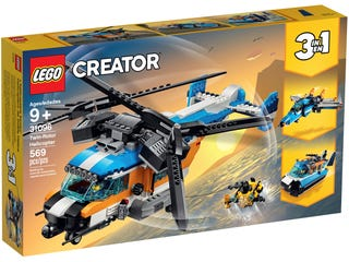 LEGO 31096 CREATOR  TWIN-ROTO HELICOPTER | Toyworld Frankston | Toyworld Frankston