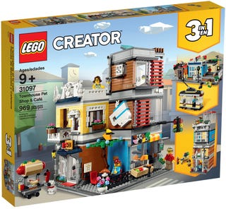 LEGO 31097 TOWNHOUSE PET SHOP & CAFE | Toyworld Frankston | Toyworld Frankston