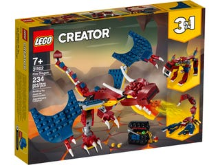 LEGO 31102 FIRE DRAGON | LEGO | Toyworld Frankston
