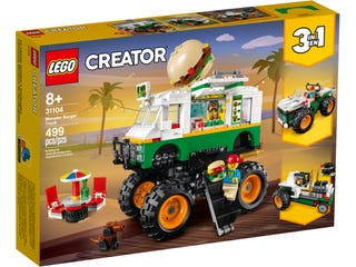LEGO 31104 MONSTER BURGER TRUCK | LEGO | Toyworld Frankston