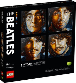 LEGO 31198 The Beatles  V29
