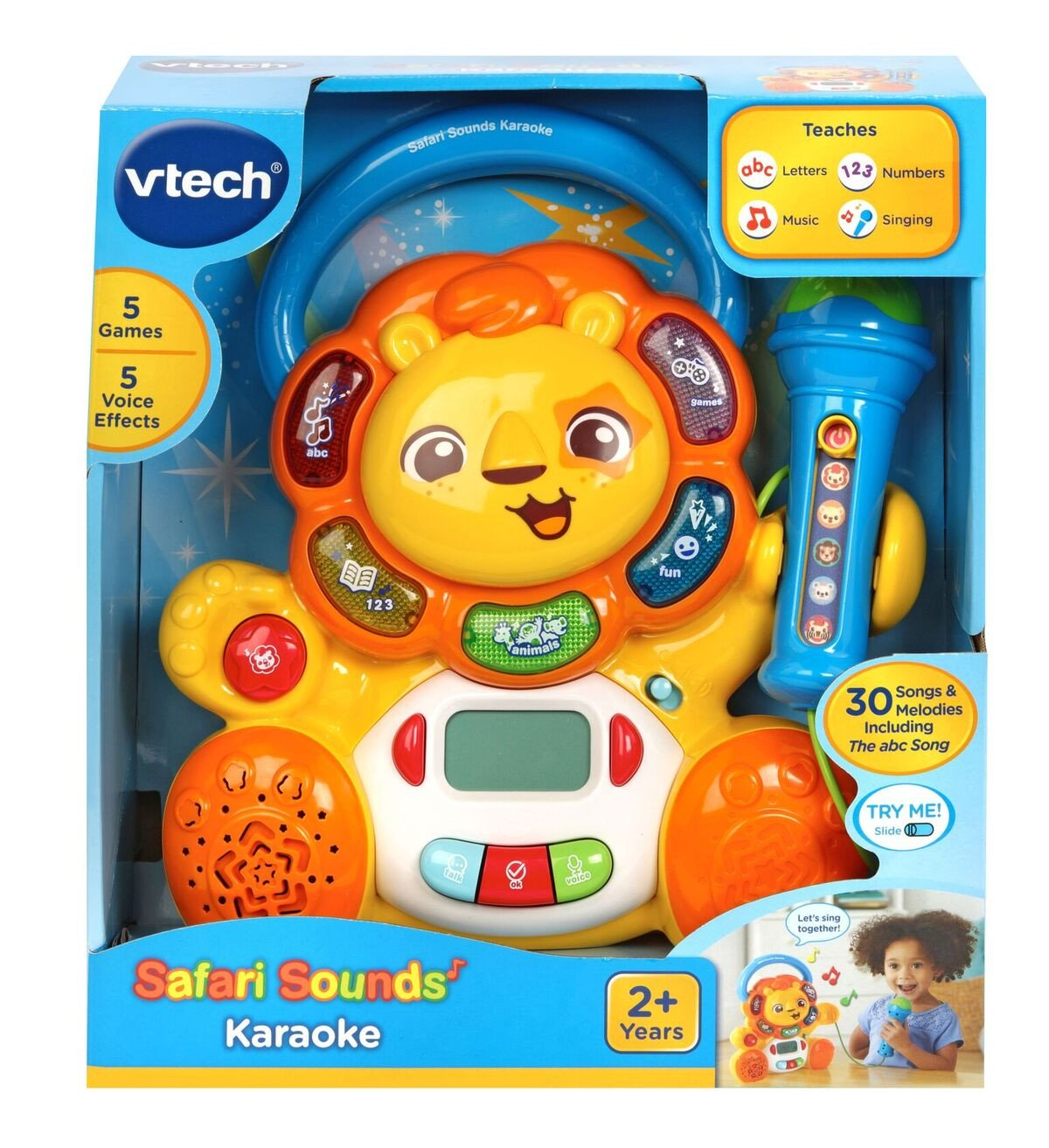 VTECH SAFARI SOUNDS KARAOKE | VTECH | Toyworld Frankston