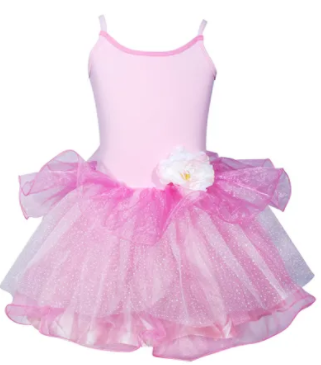 BLOOM FAIRY DRESS SIZE 3/4 PALE PINK