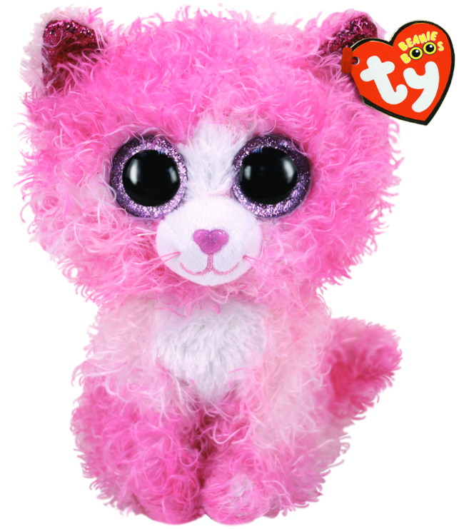 BEANIE BOO MEDIUM REAGAN CAT WITH HAIR