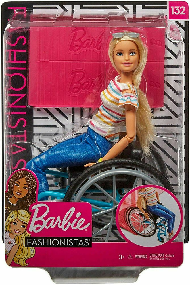 BARBIE FASHIONS WHEELCHAIR