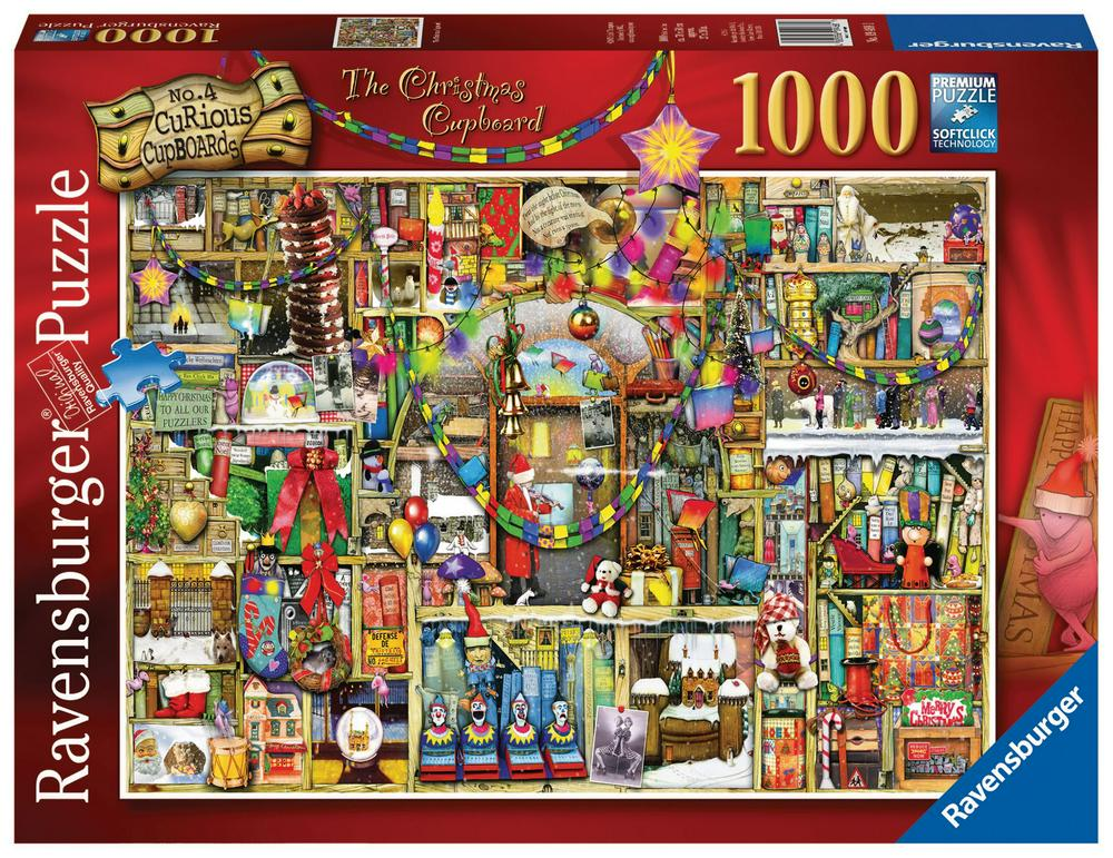 RAVENSBURGER - COUNTDOWN TO CHRISTMAS PUZZLE 1000PC | RAVENSBURGER | Toyworld Frankston