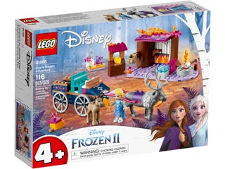 41166 Elsa and the Reindeer Carriage | LEGO | Toyworld Frankston