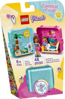 LEGO 41412 OLIVIAS SUMMER PLAY CUBE