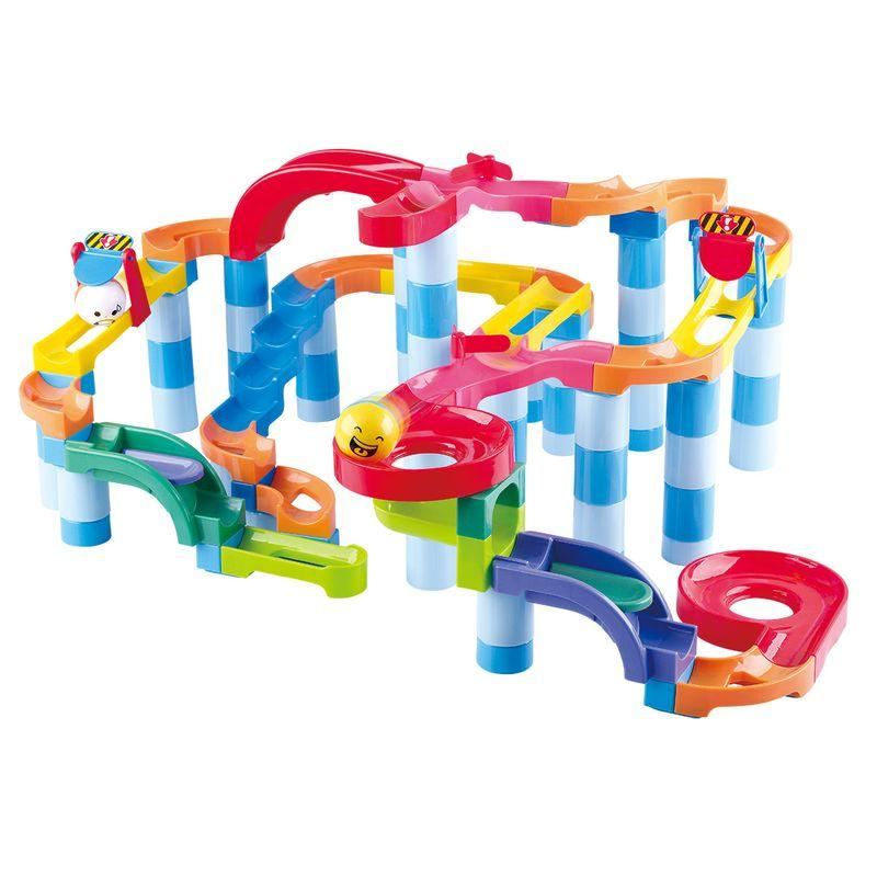 PLAYGO POWER SPIN MARBLE RUN SUPER 128PCS