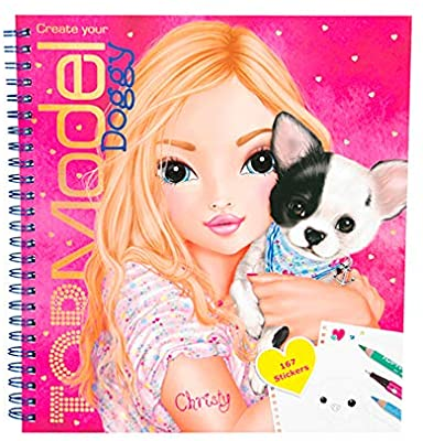 TOP MODEL DOGGY COLOURING BOOK | TOP MODEL | Toyworld Frankston