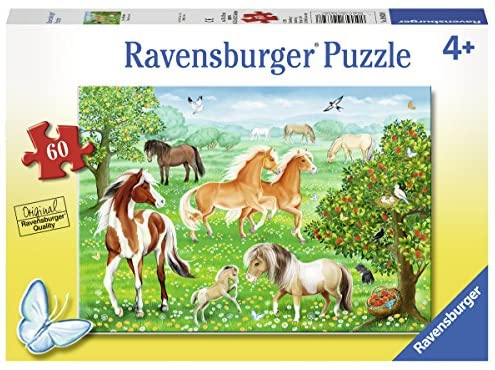 RBURG - MUSTANG MEADOW PUZZLE 60PC