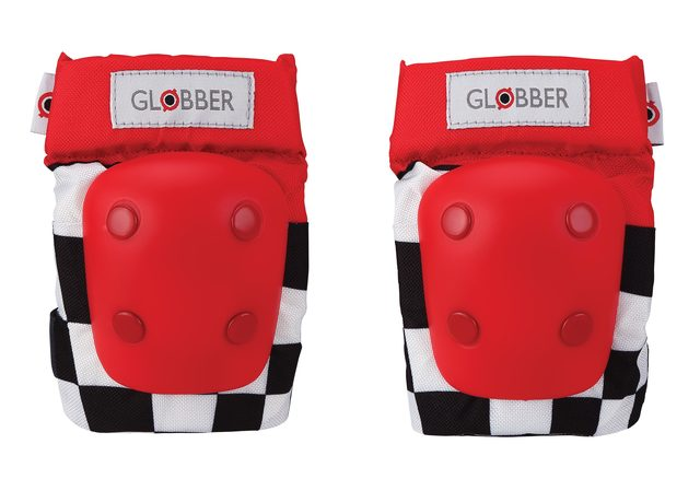 GLOBBER TODDLER PADS XXS 3-7YRS RACING RED