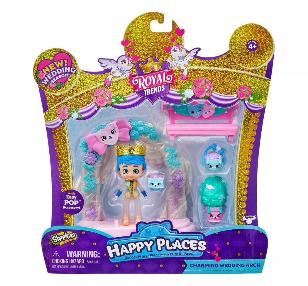 SHOPKINS HAPPY PLACES HAPPY SCENE PK - CHARMING WEDDING ARCH