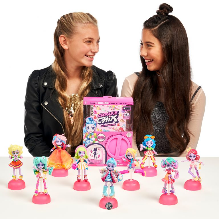 CAPSULE CHIX SWEET CIRCUITS PINK | CAPSULE CHIX | Toyworld Frankston
