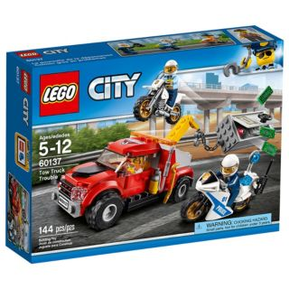 LEGO 60137 TOW TRUCK TROUBLE | LEGO | Toyworld Frankston