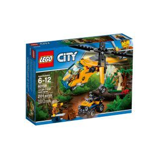 LEGO 60158 JUNGLE CARGO HELI - Toyworld Frankston