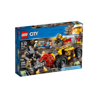 LEGO 60186 CITY MINING HEAVY DRILLER | LEGO | Toyworld Frankston
