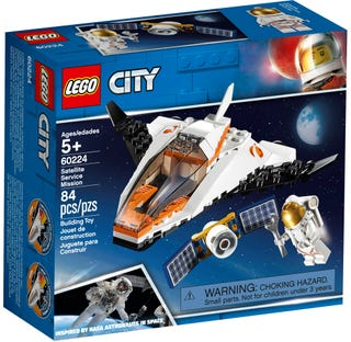 LEGO 60224 SATELLITE SERVICE MISSION