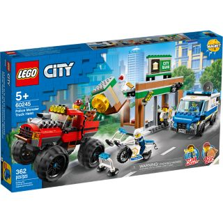 LEGO 60245 POLICE MONSTER TRUCK HEIST | LEGO | Toyworld Frankston