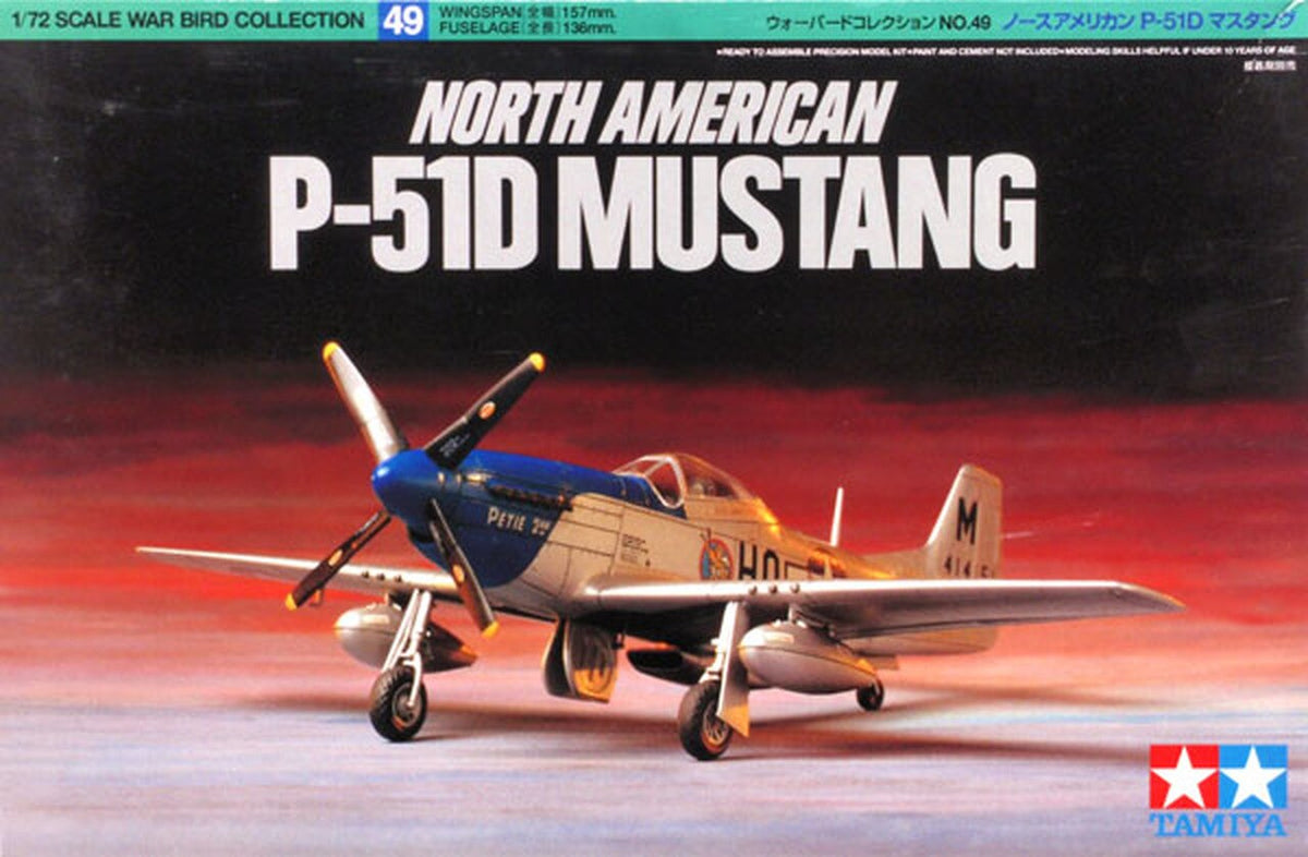 TAMIYA NORTH AMERICAN P-51D MUSTANG | Toyworld Frankston | Toyworld Frankston
