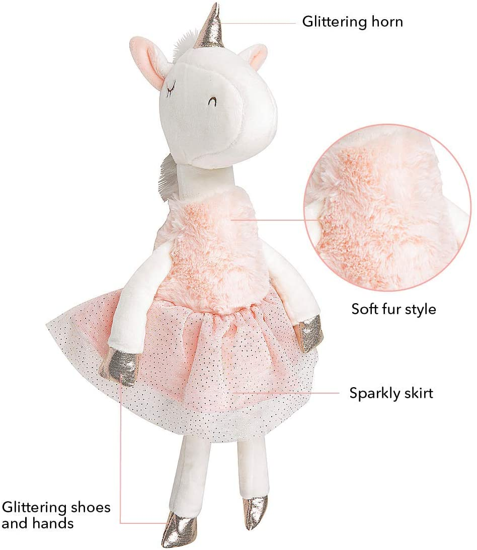 35CM UNICORN BALLERINA PLUSH