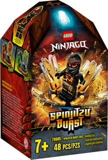LEGO 70685 SPINJITZU BURST - COLE