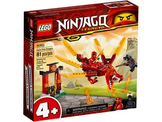 LEGO 71701 KAIS FIRE DRAGON | LEGO | Toyworld Frankston
