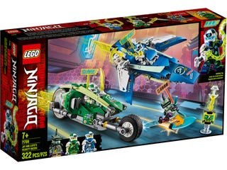 LEGO 71709 JAY AND LLOYDS VELOCITY RACERS | LEGO | Toyworld Frankston